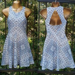 4/$20🥳 Pretty blue dress size XS